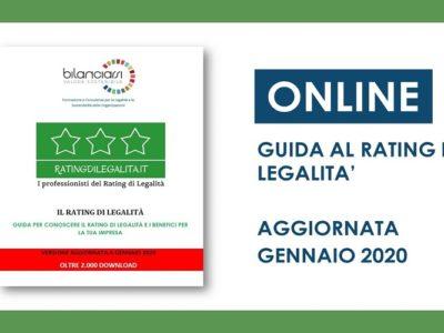 GUIDA AL RATING DI LEGALITà AGGIORNATA GENNAIO 2020 + RATINGDILEGALITA.IT
