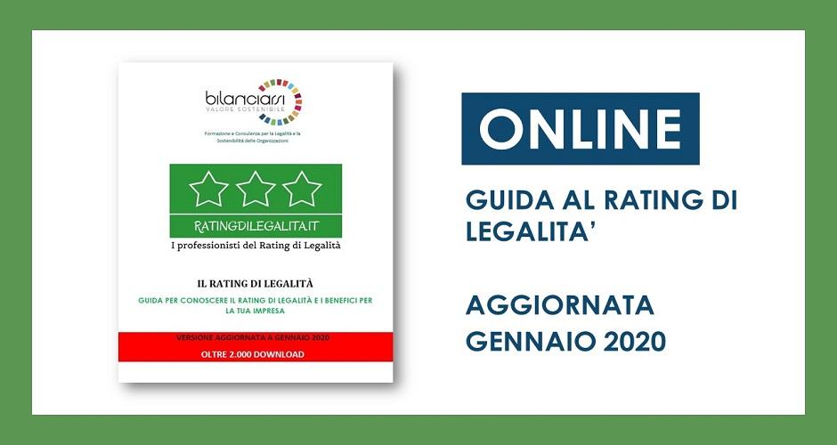 Guida Pratica Sul Rating Di Legalità: Scarica La Versione Aggiornata