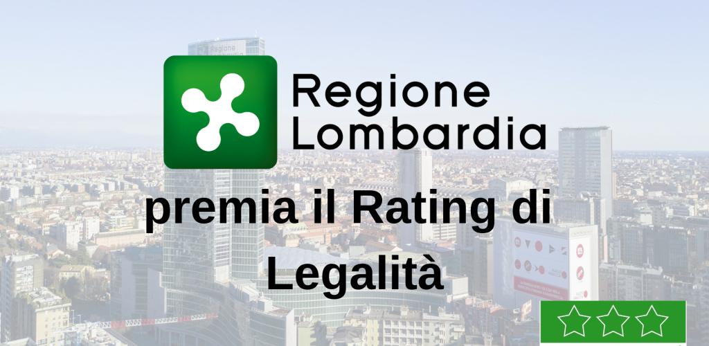 Regione Lombardia Premia Il Rating Di Legalità