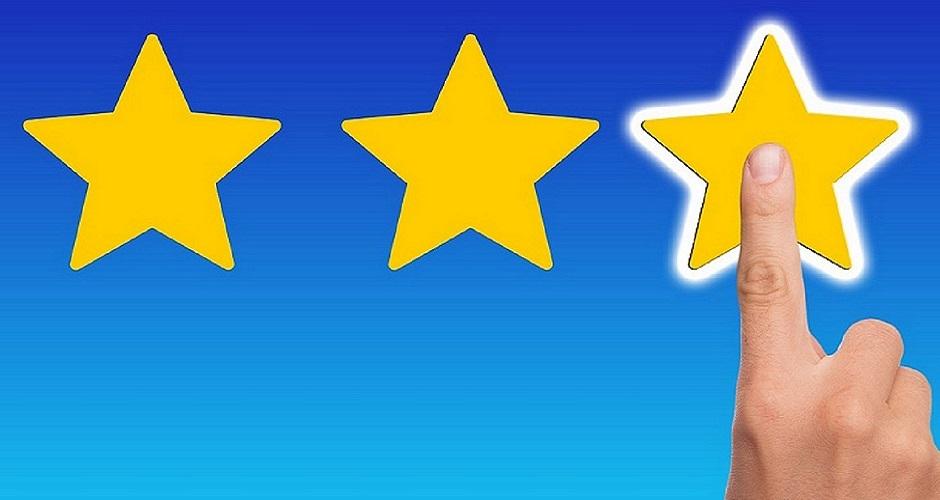 Tre Stelle Di Rating Per Tre Clienti!