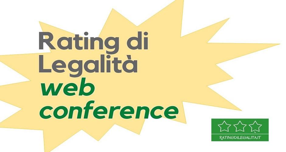 Rating Di Legalità Web Conference